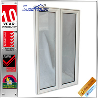 Australia standard as2047 modern house design Amercan style aluminum casement windows