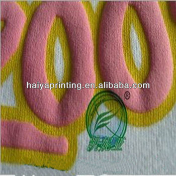 high strong foam paste for textile screen print
