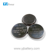parts dry cell battery cheap price YJ button cell 3.0v 210 mah cr 2032 lithium battery with 20*32 size cr2032 dry battery