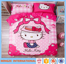 hello kitty design comfortable 100% cotton baby bedding set