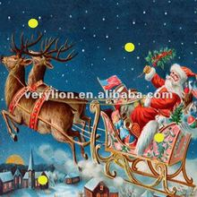 CHRISTMAS LED CANVAS PAINTING