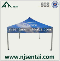 4X4M Large Outdoor Gazebo Canopy Metal Roof Frame Gazebo Fair Tent