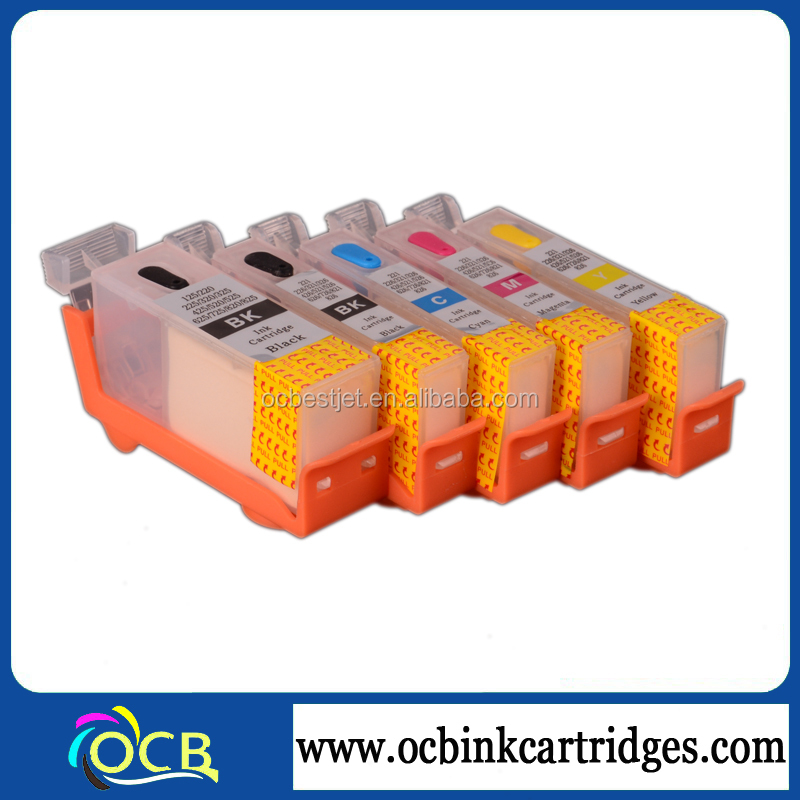 5 color PGI-225 CLI-226 refill ink cartridge for Canon IP4820 MG 8120 with permanent chip