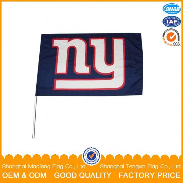 Top Quality Custom Printed Hand Flag,promotional pe hand flag