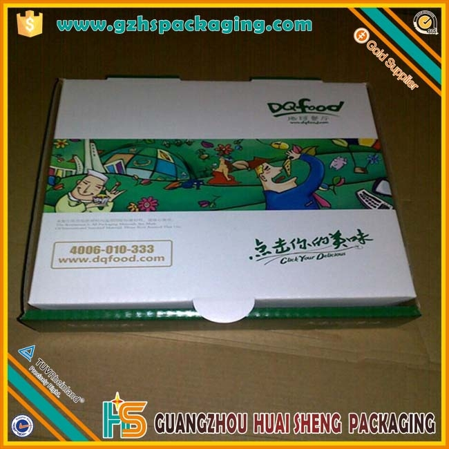 High Quality Customized Pizza Box from Made in China Capsule Paper Box