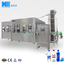 Carbonated drink/soda water filling machine