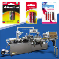 Automatic Blister Packing Machine,Paper and plastic packaging machine for bettries,bettry