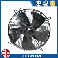 500FZL high quality axial fan with external rotor air conditioner blower motor condenser tower fan