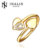 INalis 18K Series Unique Mixed Order Acceptable photo jewelry finger rings R472