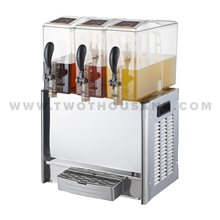 TT-J102C 3 Bowls 30L Hot and Cold Beverage Dispenser Machine with Tap