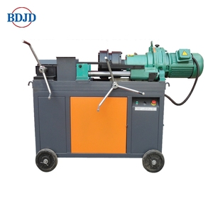 factory price new condition construction rebar thread rolling machine