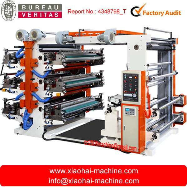 Six colors paper printing press machines price