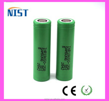 100% Authentic 18650 2500mah INR18650-25R 20A 3.6v samsung inr18650 25r battery FLAT TOP for e cig