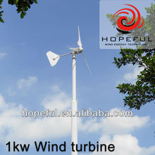 48v wind turbine wind turbines for electricity 1KW