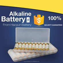 Lr03 size aaa 1.5v alkaline battery for home appliances