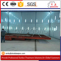 Sand blasting room for complex structure, large volume and lots kinds workpieces