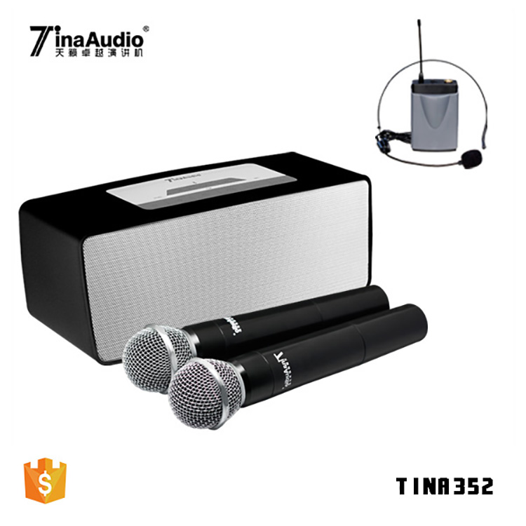 2018 Best sound voice amplifier karaoke speaker microphone with built in speaker stage speaker sound system guangzhou