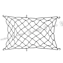 2017 hot sale black cargo net for sale