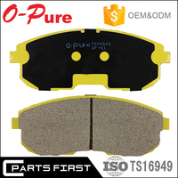 ISO/TS 16949 E-MARK Auto OEM Standard Japanese Car Brake Pads for Nissan Sunny Maxima March Tiida
