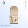 Unique design creative wood wall hanging fence decor box for flowers