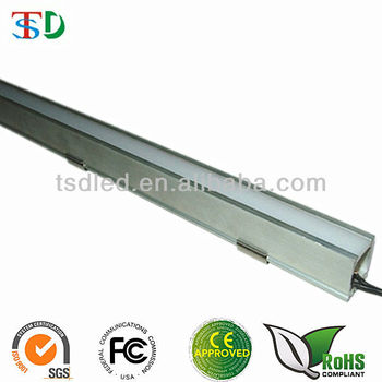 60LED/M Aluminum Profile With Diffused Cover 5050 SMD LED Bar Light