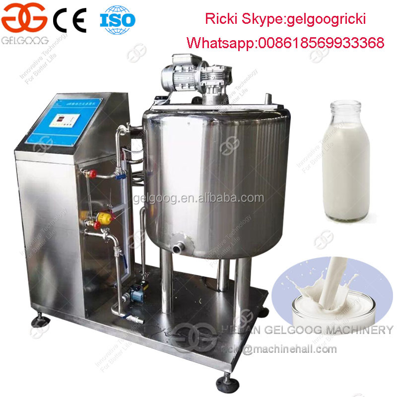 Full automatic milk pasteurizer machine commercial milk pasteurizer for sale