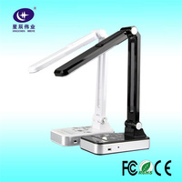 Shenzhen factory 10W white led table lamp 30 chip foldable led desk lamp office and hotel reading lamp
