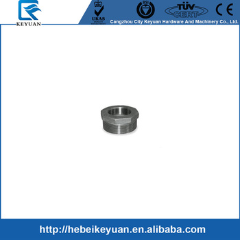"Hexagon Bushing 1/4"" male female stainless steel pipe fittings NPT"