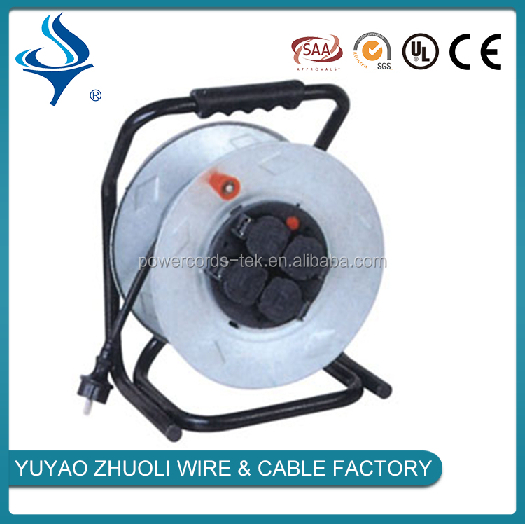 Multifunction small cable reel retractable spring cable reels