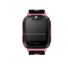 "2017 New 1.4"" LCD screen 240*240px 3g gps tracker watch, sos calling GPS+WIFI+LBS kids gps watch for Android and IOS phone"