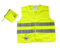 Construction protection reflective vest Orange red highway traffic vests Reflective safety