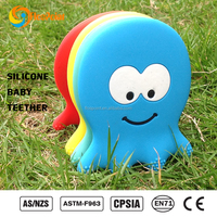 sensory teething products autism therapy penguin/giraffe/perle/seahorse/octopus/anchor/steer silicone alimentaire
