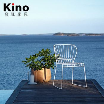 High quality and good design dining chair, China metal dining chair supplier