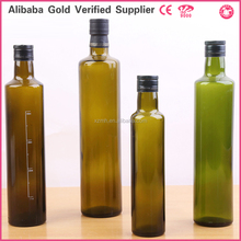 Wholesale Round/square Shape 250/500/750/1000ml Olive Oil Glass Bottles