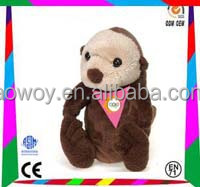 New arrival logo bandana plush sea otter p10s09 toy