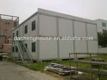 two storey combined luxury movable prefabricated container house for miners