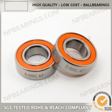 cn precision deep groove 1 2 by 3 4 stainless steel bearing