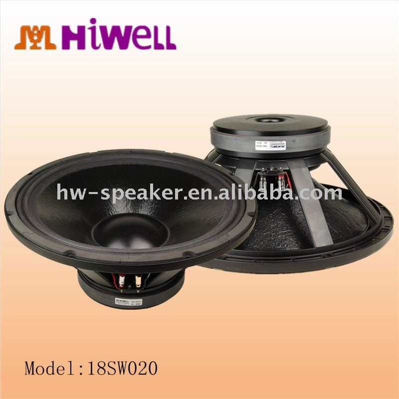 18 inch 600 Watts RMS 8 Ohm outdoor concert speakers