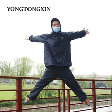 Fancy design cheap adult durable waterproof heavy duty long raincoat