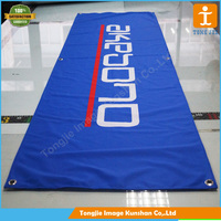 Customized Biodegradable polyester fabric banner for market