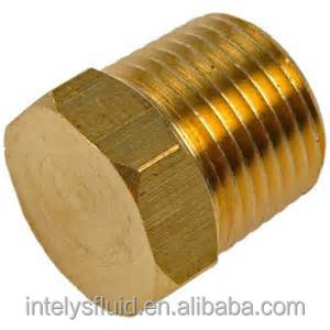 "1/8"" 3/16"",1/4"",3/8"",1/2"" Brass Pipe Fitting, Tube Fitting,Hex Head Plug"