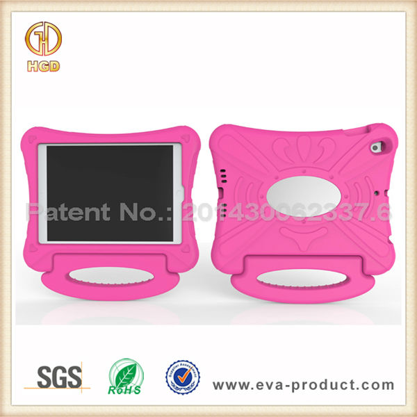 Hot Pink 9.7 inch case for iPad 5,Wholesale Excellent Quality Oem funky case for ipad air