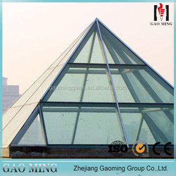 Curved Glass for Curtain Wall/ Spider Wall/ Curtain Wall for skylights