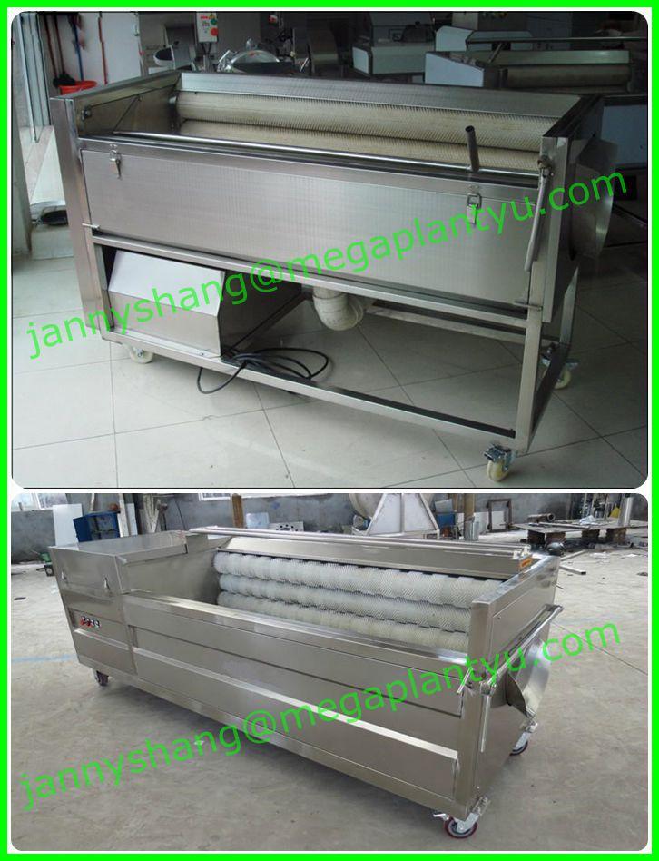 potato scrubber machine