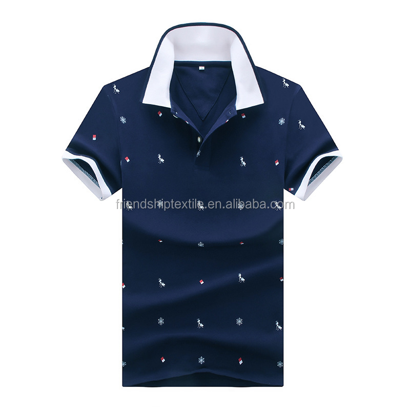 2016 the lastest design custom your own polo shirt for men top quality online shopping