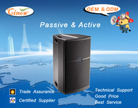 AR815, 15Inch Passive Professional Loudspeakers, 2-way,Fixed Installed Speakers,Stage Monitor