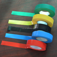 2015 colorful PVC Electrical Insulation Tape for wire and cable