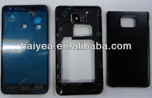 OEM NEW for Samsung galaxy S II I9100 S2 full housing with small parts complete plastic cover