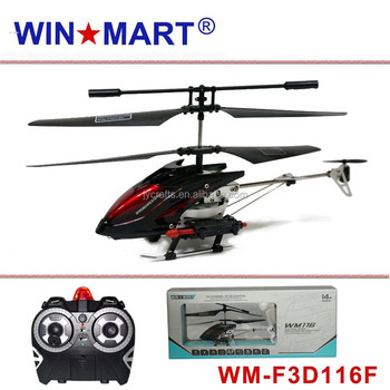 WM-F3D116F 3ch shoot missile rc helicopter