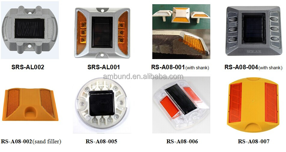 Popular led solar cat eyes road stud with best price supplied by professional traffic safety solution manufactuer